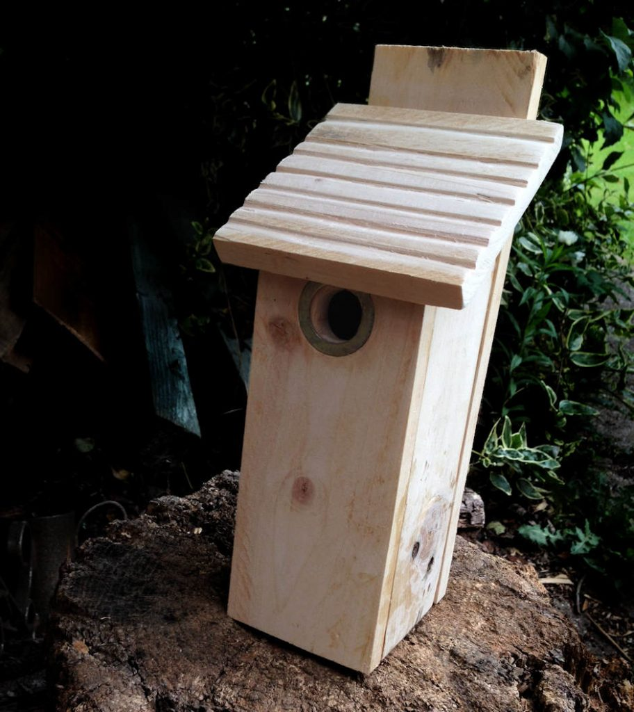 Bird Box from recycled pallet wood - A Do It Properly project