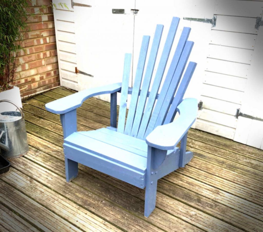 adirondack chair from pallet wood